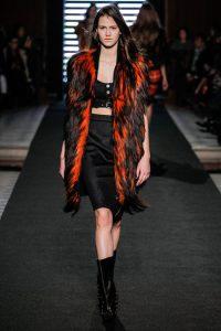 black and orange furs