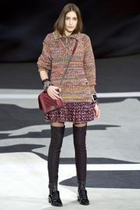 chanel pastel tweed