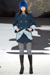 chanel tweed leg