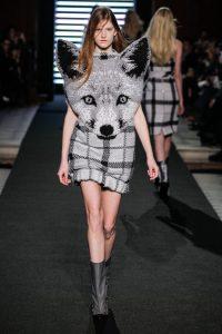 fox head dress
